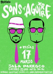 Concierto Sons Of Aguirre