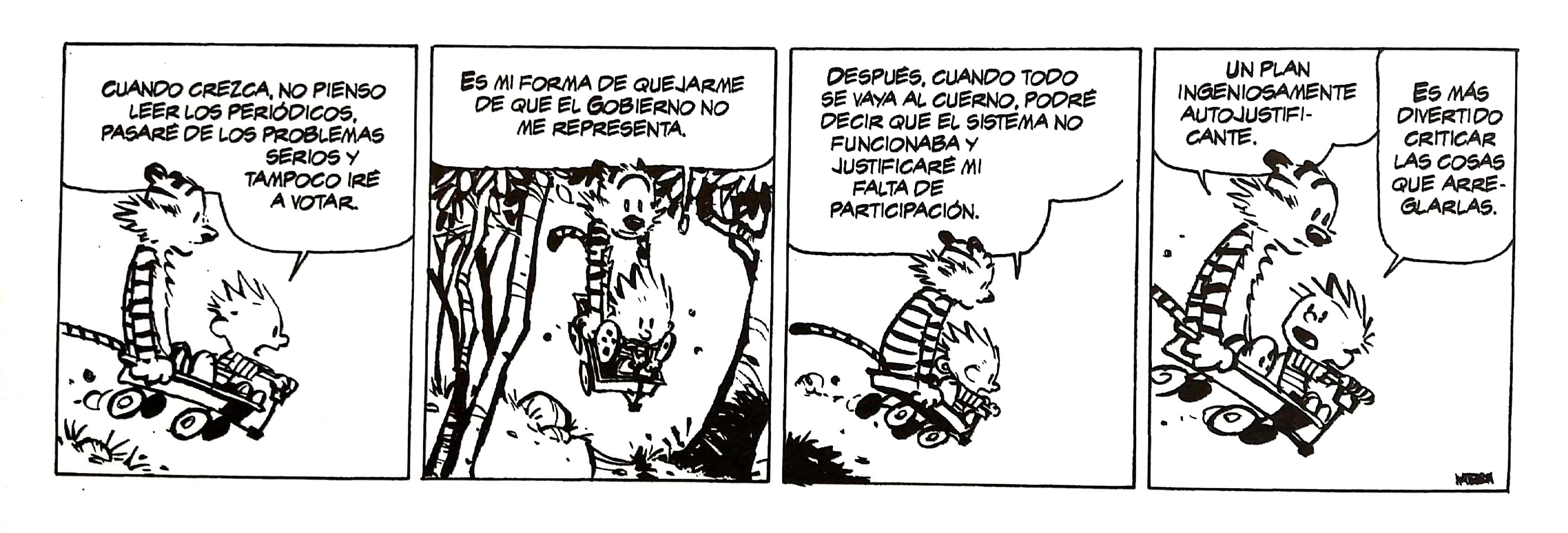 Calvin y Hobbes